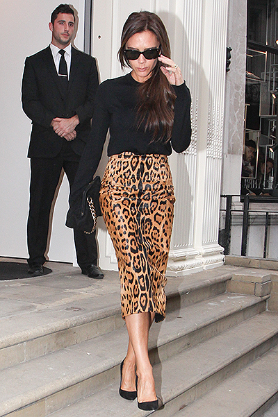 Victoria Beckham visits her eponymous retail store on Dover Street for the first time since its official opening Featuring: Victoria Beckham Where: London, United Kingdom When: 27 Sep 2014 Credit: WENN.com