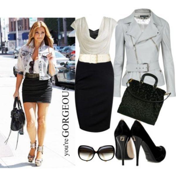 Звездный стиль: маленькое черное платье