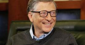 Билл Гейтс попробовал воду, переработанную из человеческих нечистот