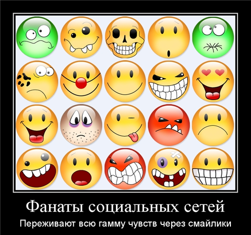 Smiles-in-social-network