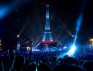 Концерт Дэвида Гетты перед началом чемпионата Европы по футболу