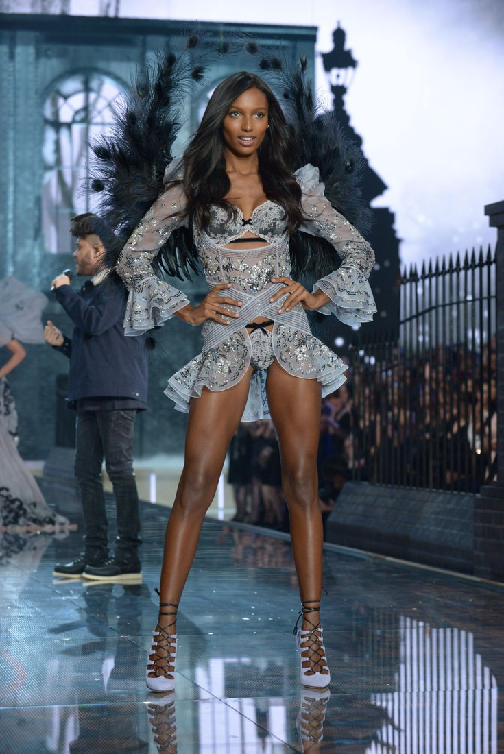 FOR EDITORIAL USE ONLY. Victoria's Secret Fashion Show New York November 2015. Ready to Wear. American model Jasmine Tookes.  ADDITIONAL IMAGES AVAILABLE ON REQUEST.